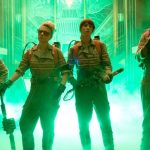 The female Ghostbusters unload their proton packs in new still!