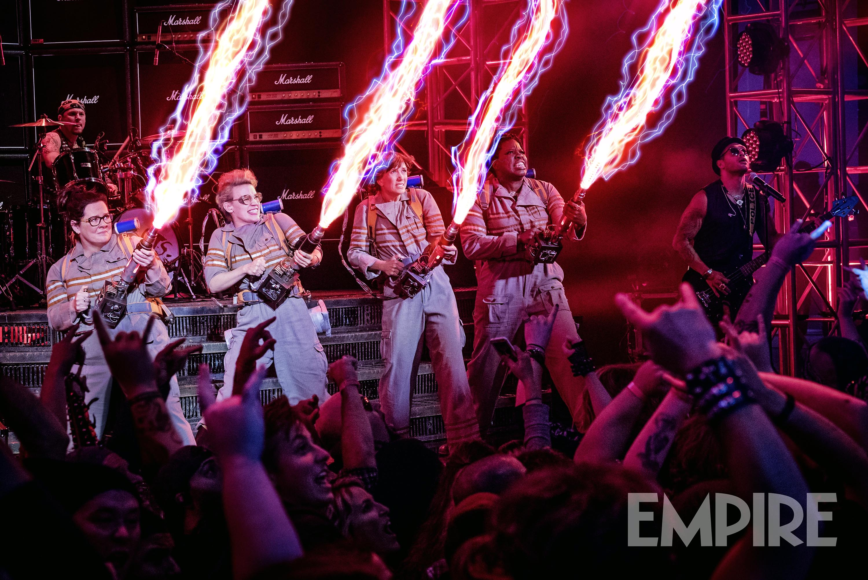 The new Ghostbusters still