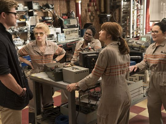 The other new Ghostbusters still