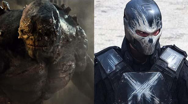 Doomsday & Crossbones. Sources: Warner Brothers / Marvel Studios