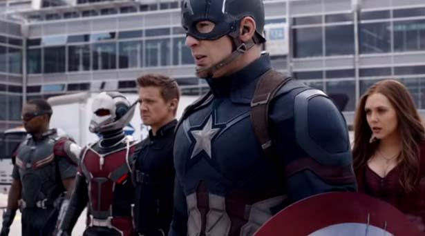 Team Captain America. Source: Marvel Studios