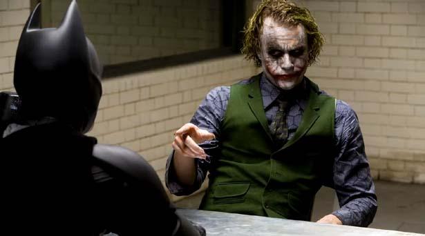 The Dark Knight. Source: Warner Brothers