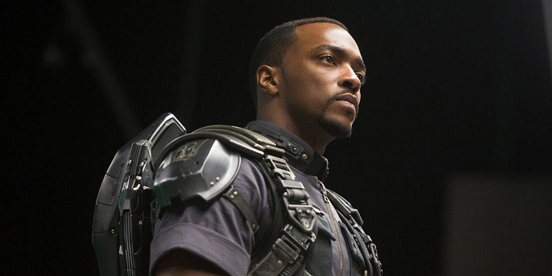 Anthony Mackie did pick Batman's side for Batman v Superman before!
