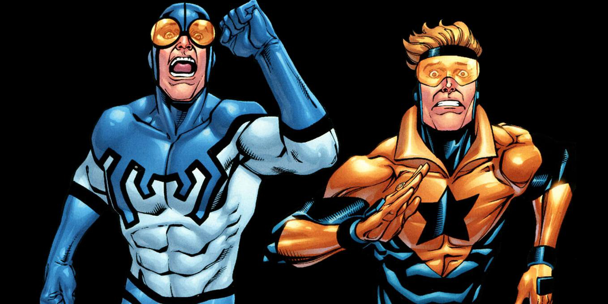 Booster Gold and Blue Beetle (Screen Rant)