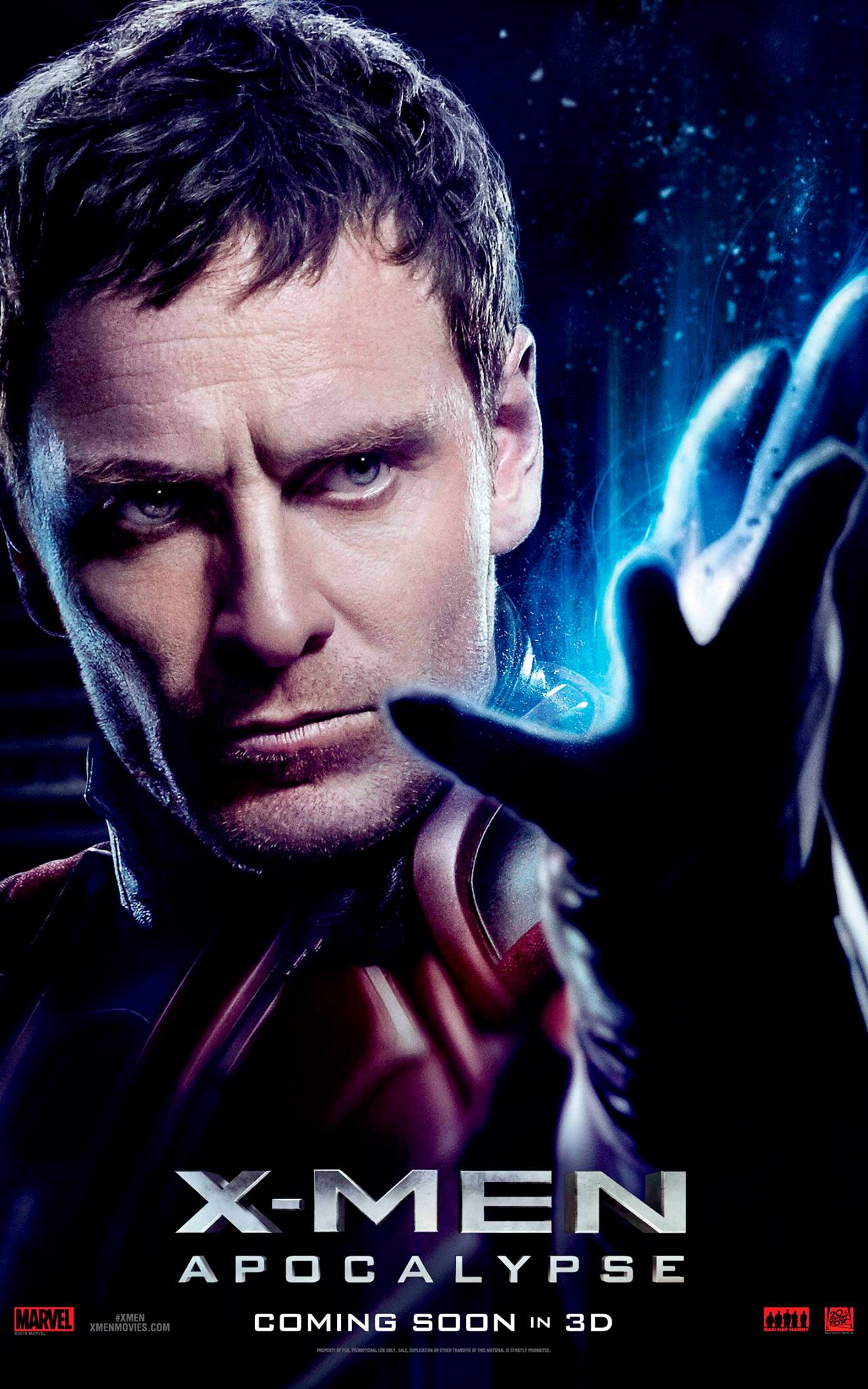 Magneto character poster