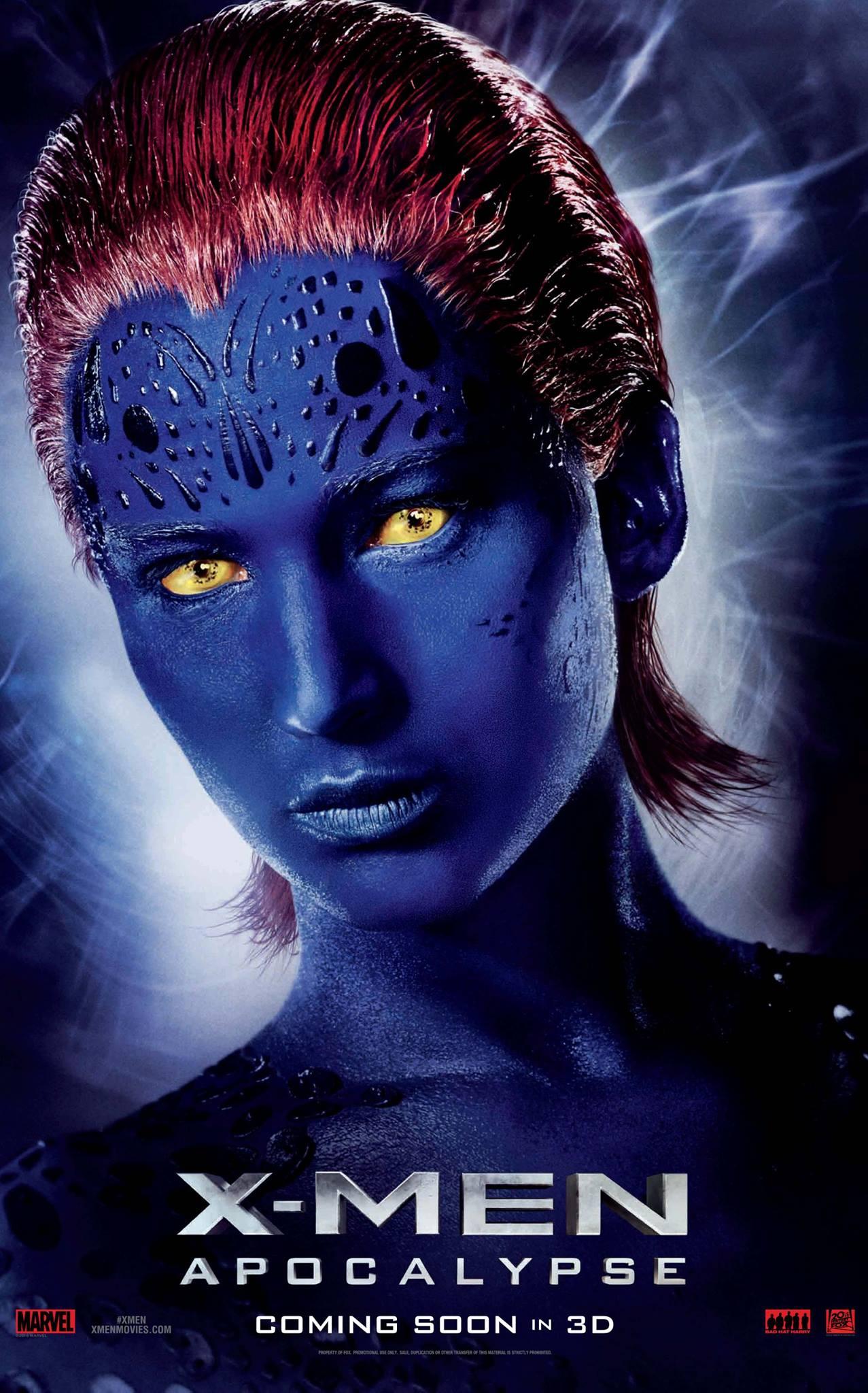 Mystique character poster