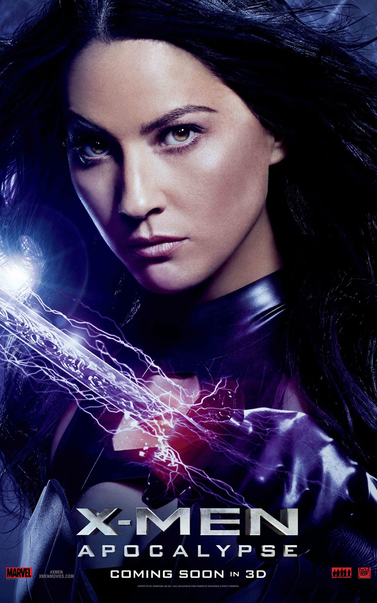 Psylocke character poster