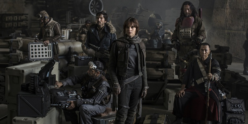 Rogue One: A Star Wars Story cast members