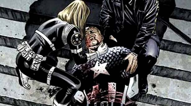 The death of Captain America. Source: Marvel Comics
