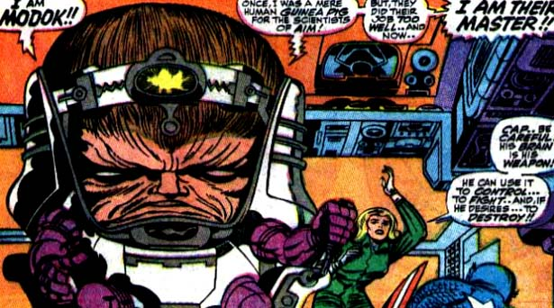 M.O.D.O.K. Source: Marvel Comics