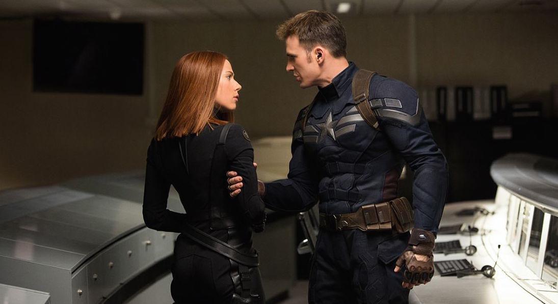 Captain America and Black Widow (Movie Pilot)