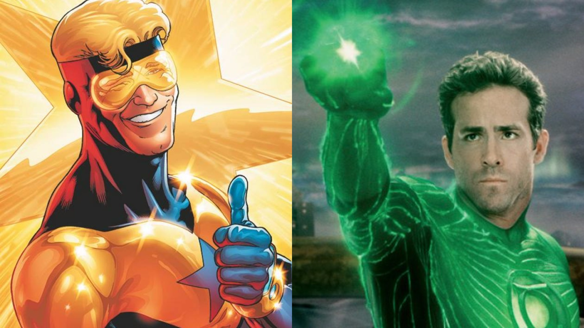 What can Booster Gold and the Green Lantern debacle have in common?