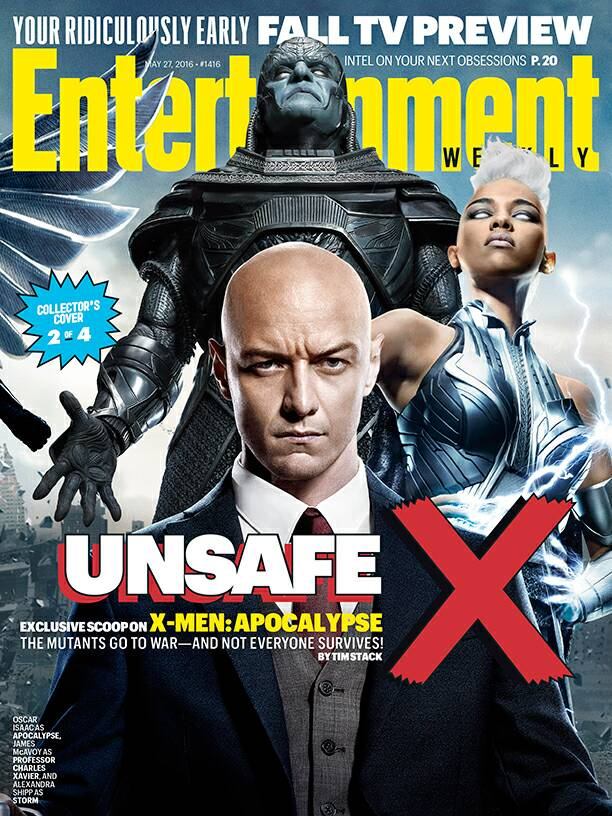 X-Men: Apocalypse-themed cover featuring Apocalypse, Charles Xavier and Storm!