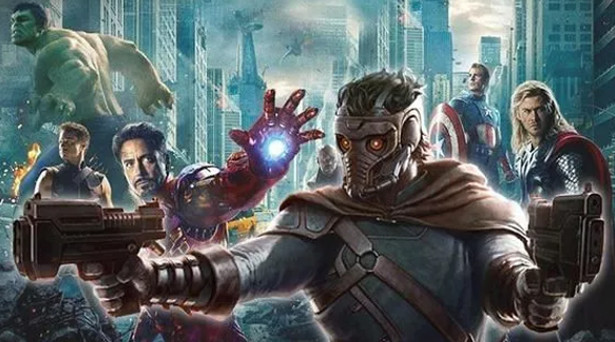 The Avengers & Star-Lord. Source: Marvel Studios