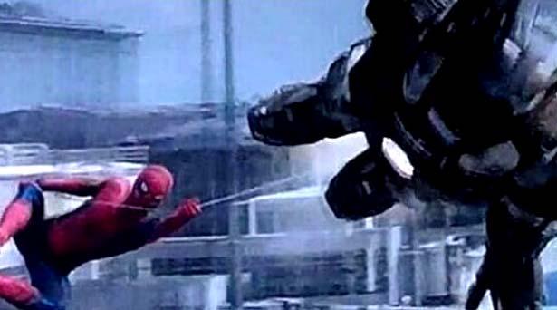 Spider-Man & War Machine in Captain America: Civil War. Source: Marvel Studios