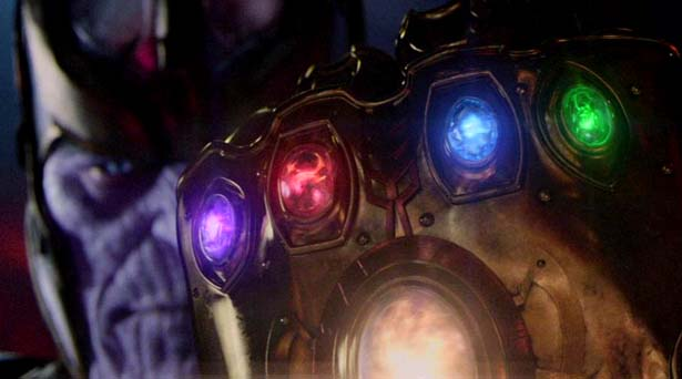 Thanos with the Infinity Gauntlet. Source: Marvel Studios
