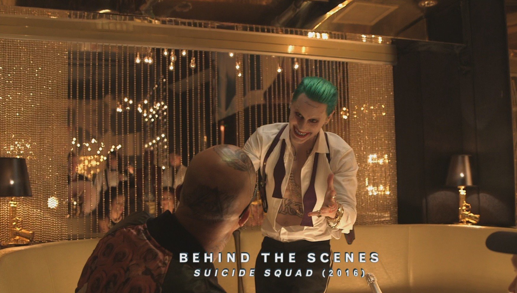 Another BTS still featuring Jared Leto's character!
