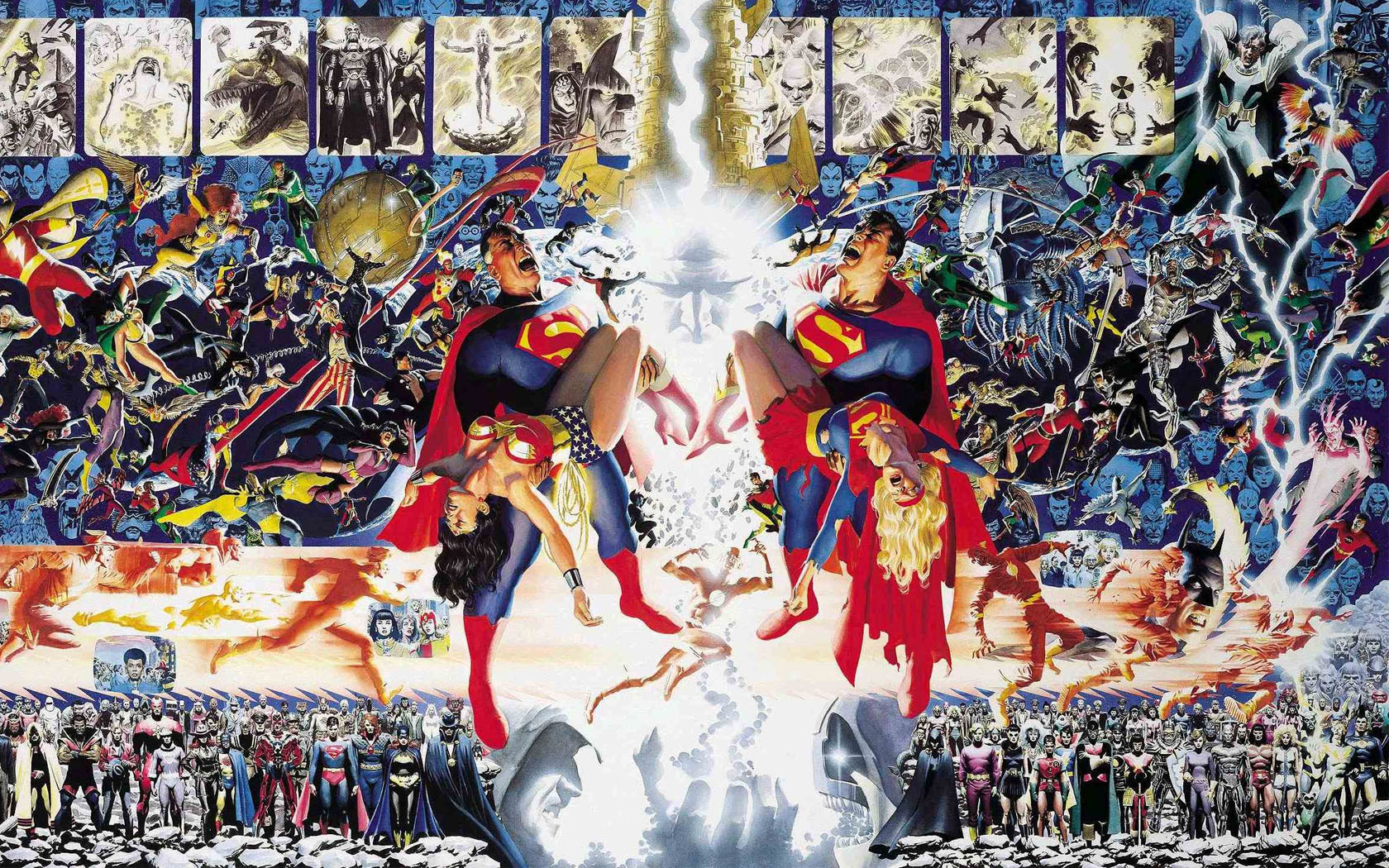 Crisis on Infinite Earths (Comic Vine)
