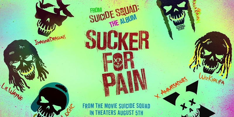Suicide Squad tie-in music video Sucker for Pain launched officially!