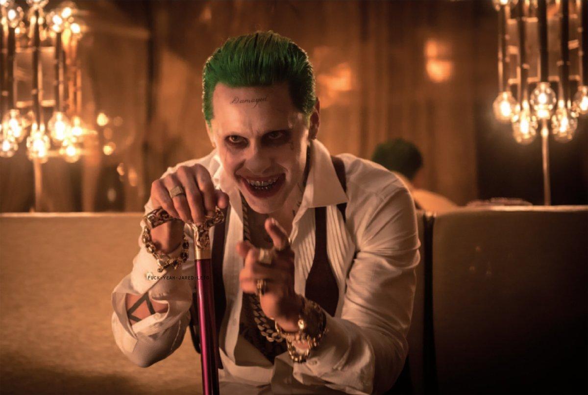 The Joker smiles!