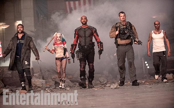 Boomerang, Harley, Deadshot, Flag and Diablo!