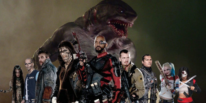 David Ayer originally wanted King Shark in Suicide Squad, not Killer Croc!