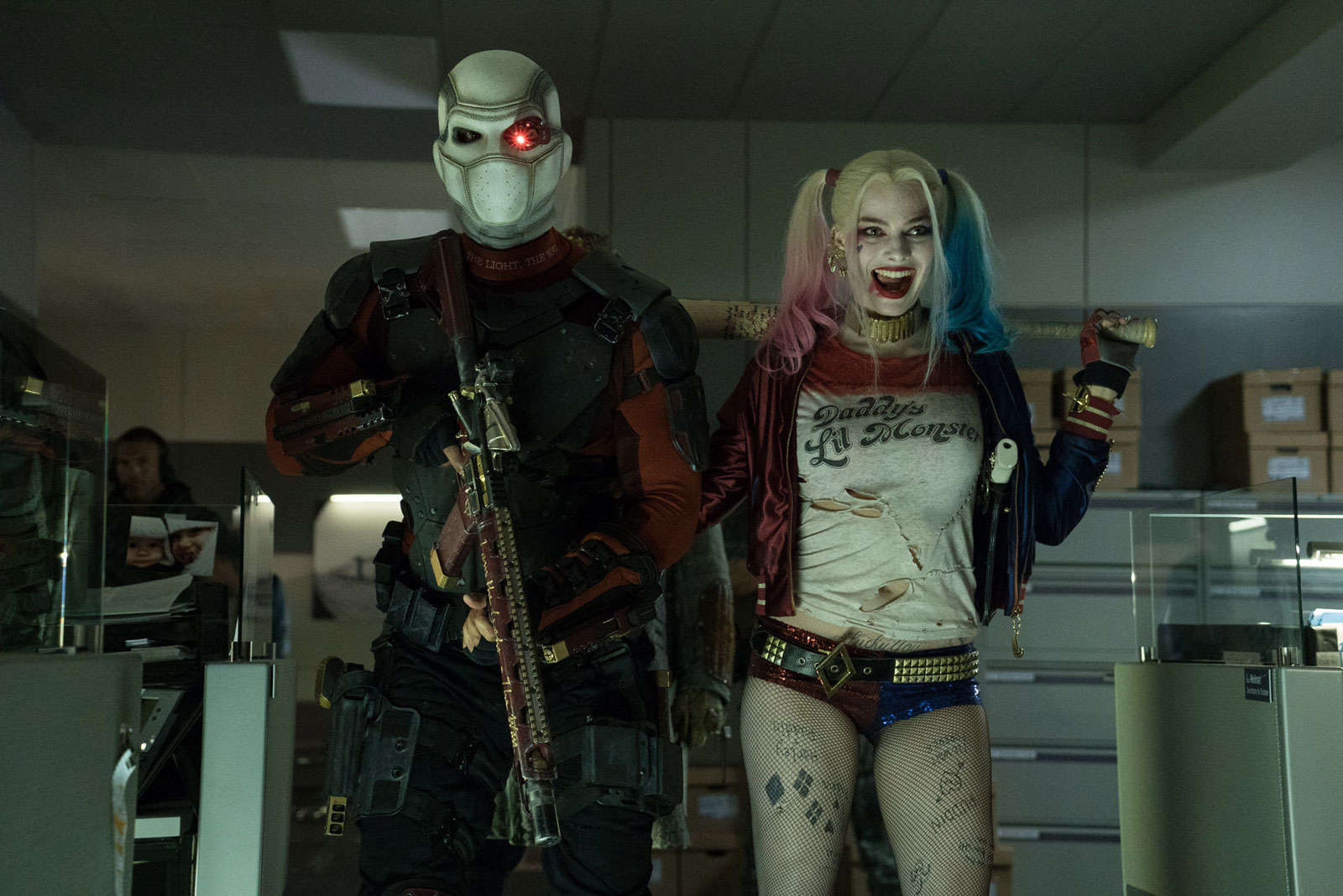Deadshot and Harley