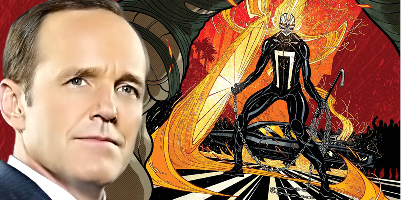 Jeph Loeb explains why they picked Robbie Reyes as Ghost Rider for Agents of S.H.I.E.L.D. Season 4!