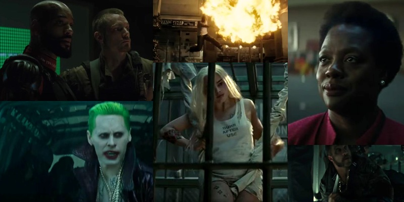 New Suicide Squad trailer launched which features a lot of new footage!