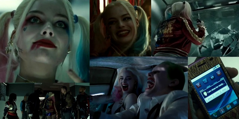 New Suicide Squad trailer with Harley Quinn in the spotlight released!