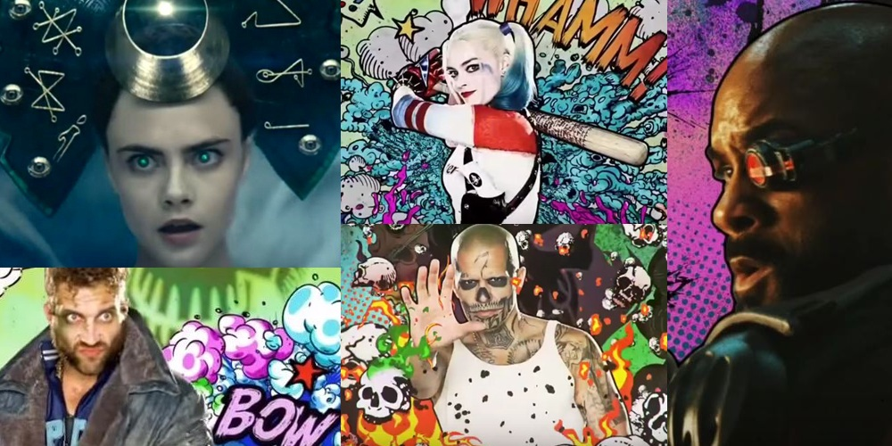 New character vignettes for Suicide Squad and the description of a scene released!