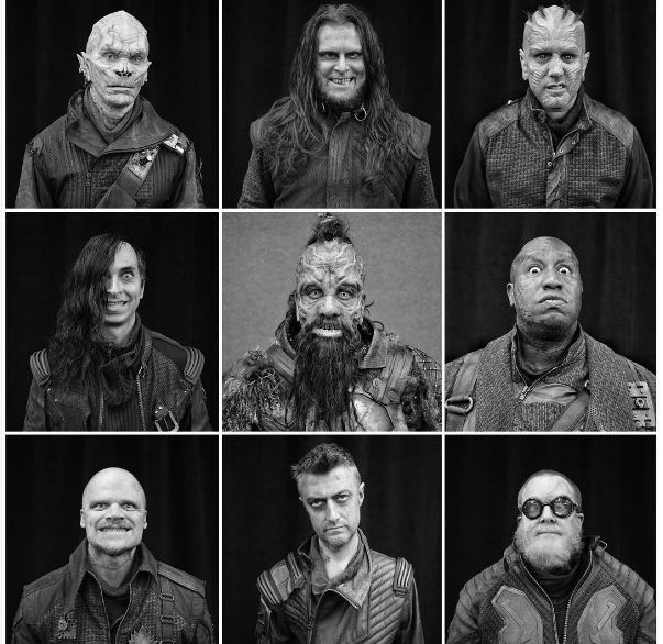 Taserface and his ravagers (James Gunn Instagram)