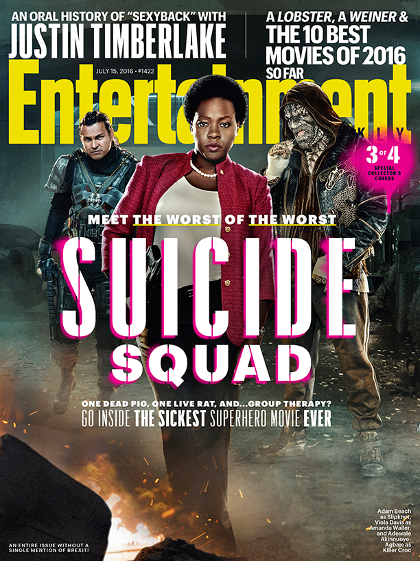 Suicide Squad cover featuring Slipknot, Amanda Waller and Killer Croc!