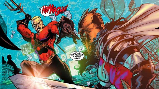 Aquaman vs. Wonder Woman (Movie Pilot)