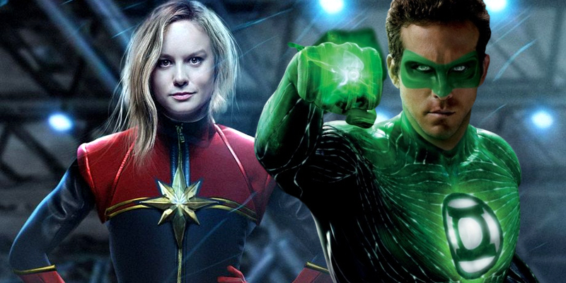 Captain Marvel's origin story will be changed to avoid similarities with Green Lantern!