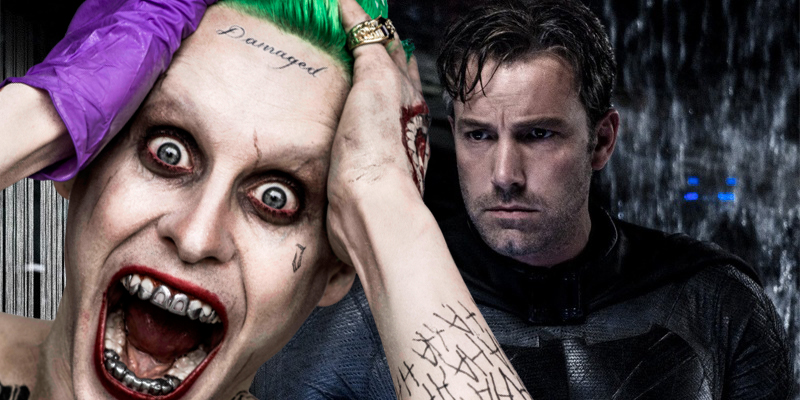 David Ayer reveals the backstory for The Joker's 'Damaged' tattoo in Suicide Squad!