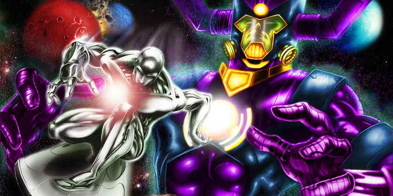 Galactus and Silver Surfacer were also included in Slater's script!