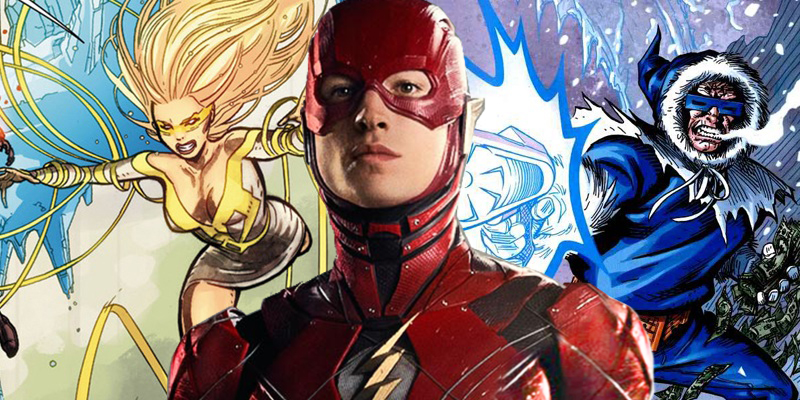Golden Glider and Captain Cold are rumored to be the main antagonists of The Flash movie!