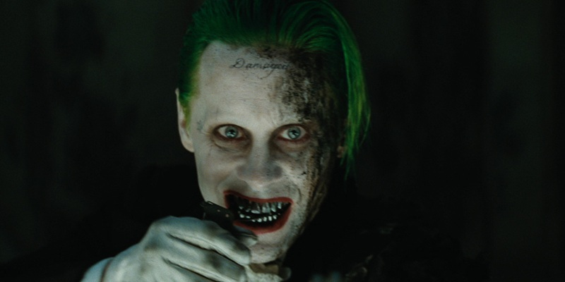 It seems like the story behind The Joker's tattoo may not find a place in a future DCEU movie!