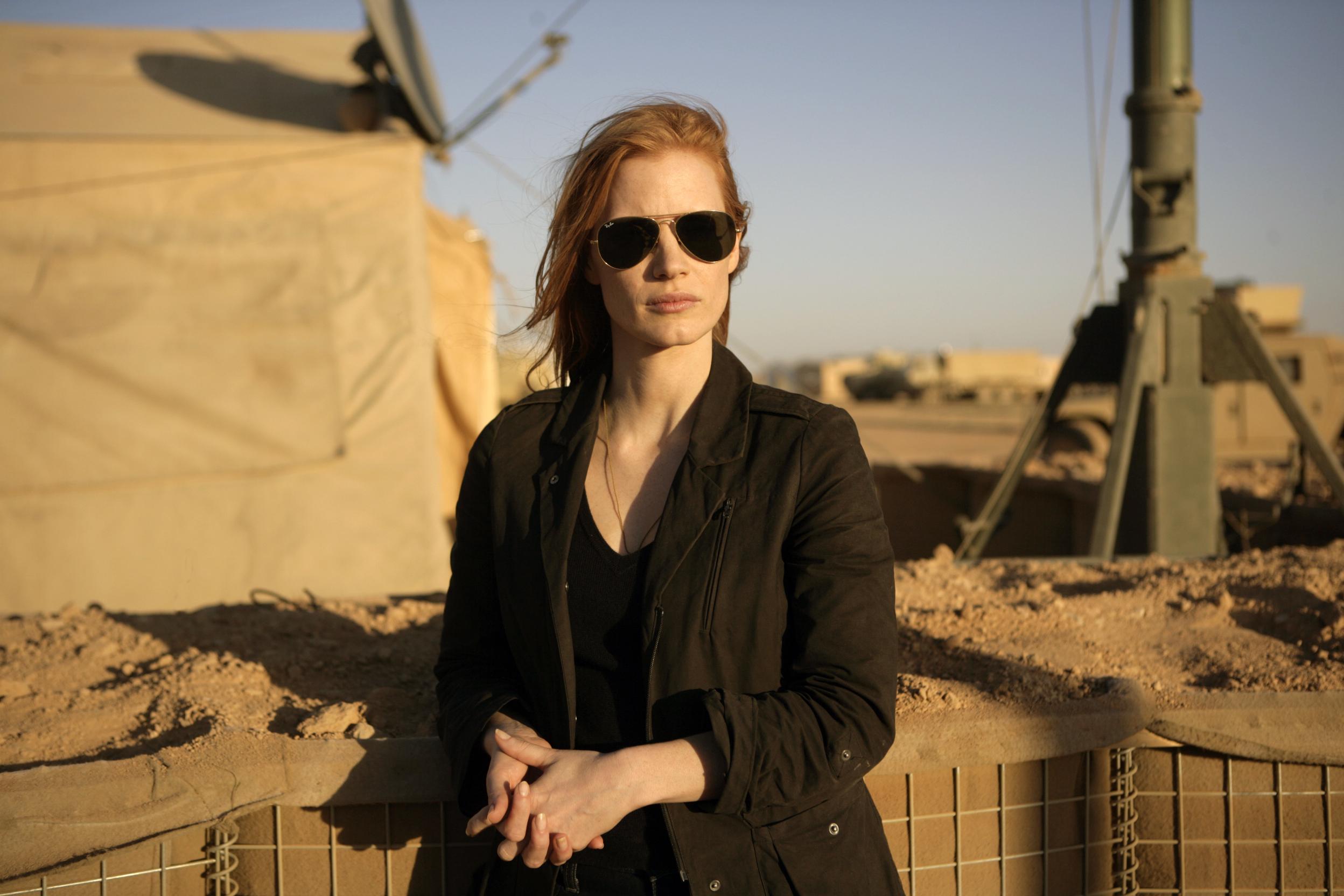 Jessica Chastain in Zero Dark Thirty (Collider)