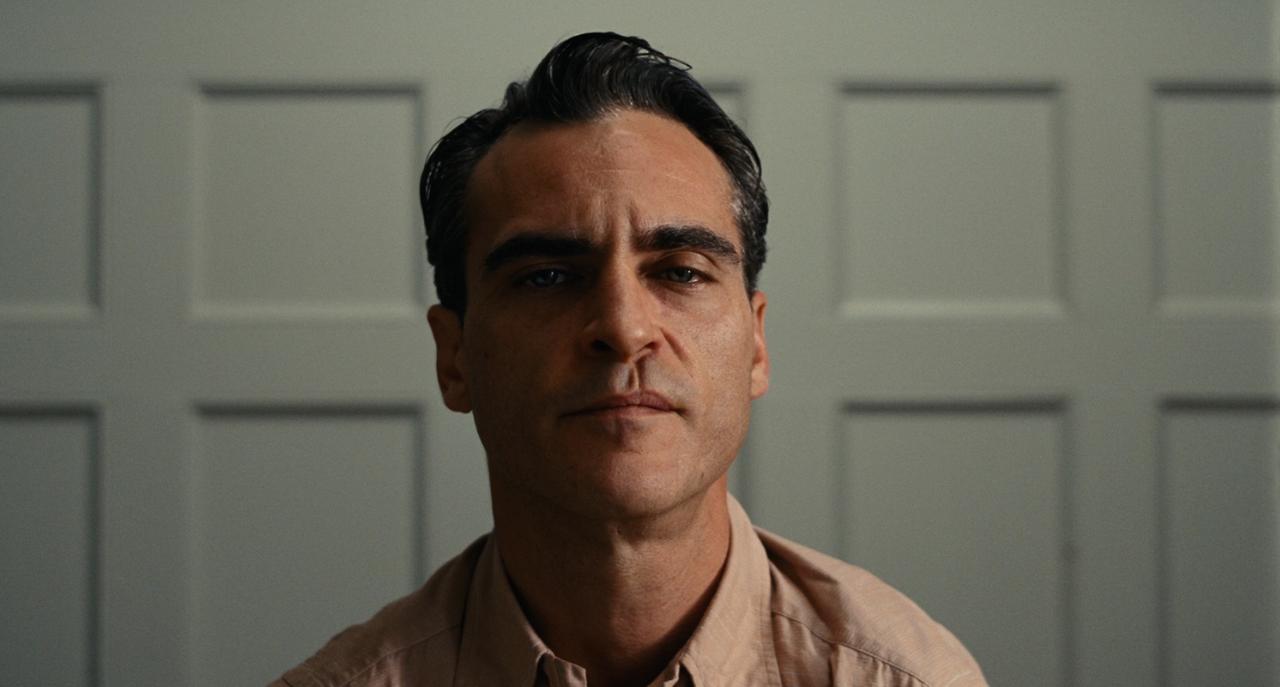 Joaquin Phoenix in The Master (Kafka on the Shore)