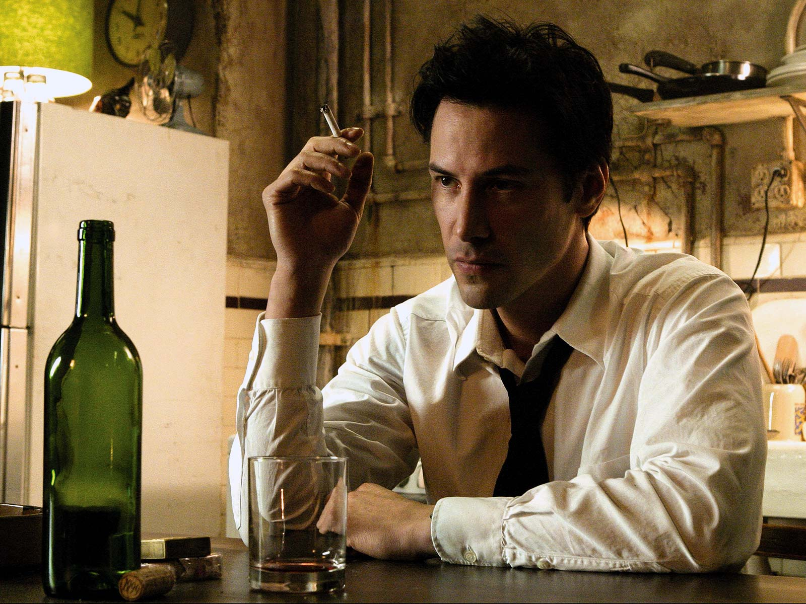 Keanu Reeves as Constantine (CBR)
