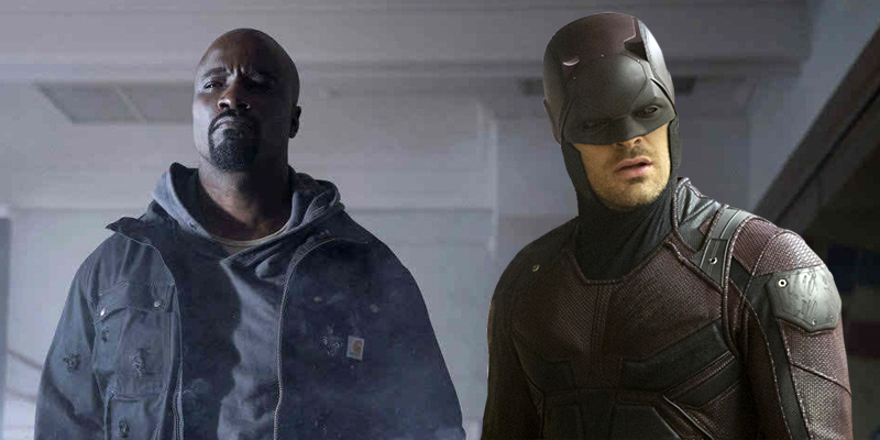 Luke Cage Season 1 and Daredevil Season 2 overlap with one another!