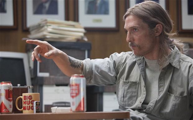 Matthew McConaughey in True Detective (Telegraph)