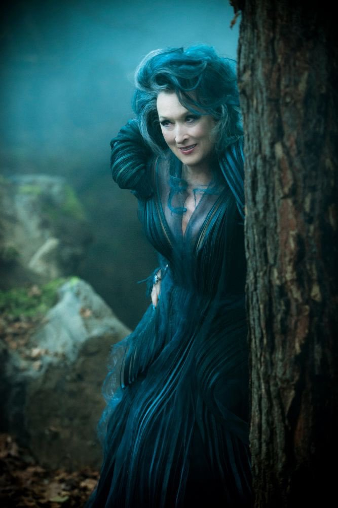 Meryl Streep in Into the Woods (Sparkly Ever After)