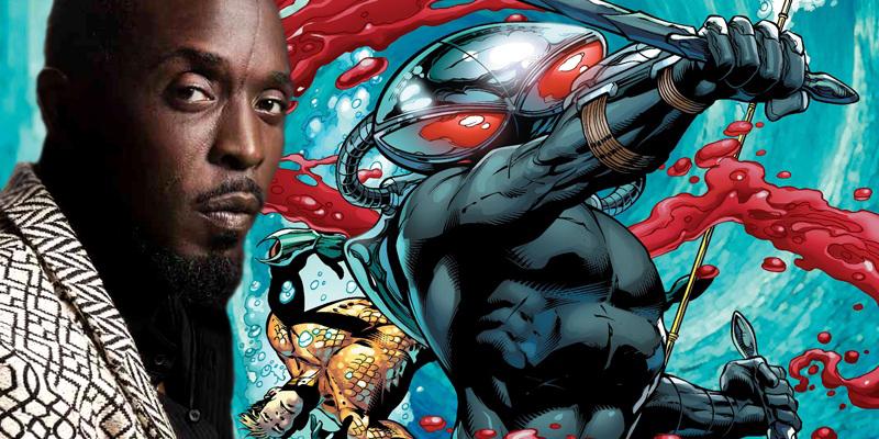 Michael K. Williams wants to play Black Manta in Aquaman movie!