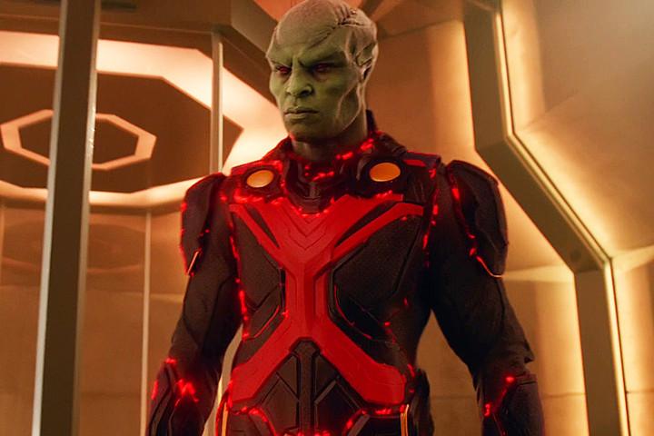 Supergirl's Martian Manhunter (Screen Crush)