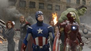 """Publicity photo from the film """"The Avengers"""""""