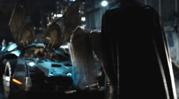 Batman in Suicide Squad. Source: Warner Brothers