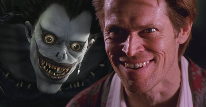 Willem Dafoe To Voice Death God Ryuk In Netflix S Death Note